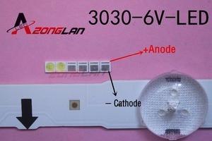 Image 1 - LED 1000 ชิ้น/ล็อต Backlight LED 1.8W 3030 6V Cool สีขาว 150 187LM PT30W45 V1 แอ็พพลิเคชันทีวี