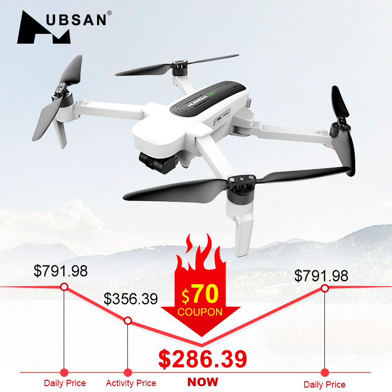 Hubsan H117S Zino GPS 5.8G 1KM Foldable Arm FPV with 4K UHD Camera 3-Axis Gimbal RC Drone Quadcopter RTF High Speed Racing FPV(China)