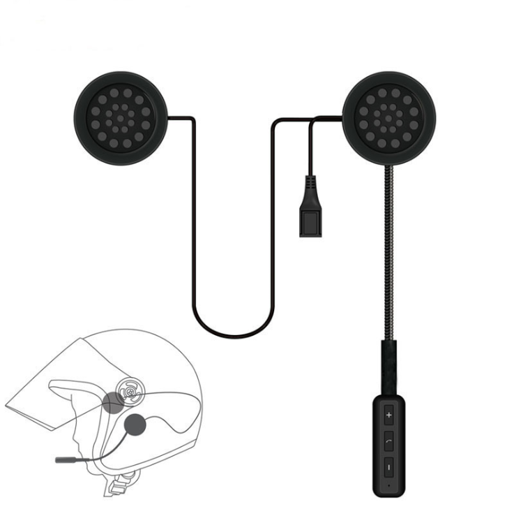 Headset Motorcycle-Helmet Earphone Handsfree Bluetooth-4.0 Music-High Wireless by Dhl/fedex