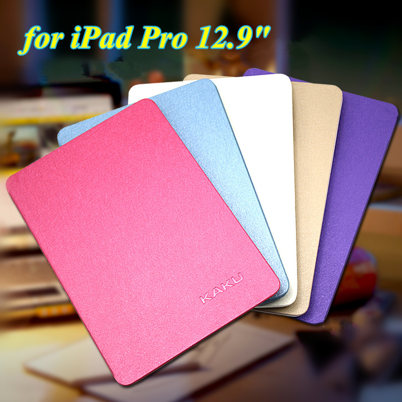 High Quality 8 Colors Ultra Thin Slim Cover for iPad Pro 12.9 Inch Flip Book Cover Tablet Stand Smart Case for Apple iPad Pro g962 18 to 252 5