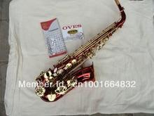Yanagisawa alto saxophone students the big red gold lacquer press button saxophone