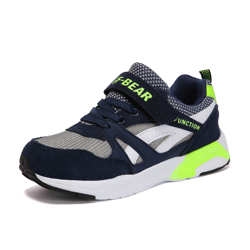 New 2018 Kids Shoes For Boys Girls Children Sport Shoes Fashion Kids Sneakers Breathable Comfortable Boys Sneakers EU 31-38