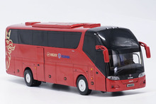 Alloy Model Gift 1:42 Scale KingLong Higer Scania A90 Road Travel Transit Bus Vehicle DieCast Toy Model Collection Decoration new arrival gift lp700 matte 1 18 model car collection alloy diecast scale table top metal vehicle sports race decoration toy