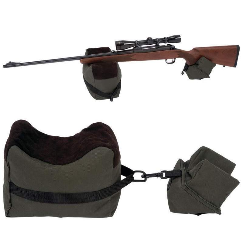 ניידת אקדח טווח מנוחה ירי קדמי & אחורי ספסל מנוחה שקיות רובה המטרה ספסל עמדה לא ציד האקדח רובה ציד