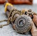 Hot sale exquisite 12 constelações Relógio de Bolso Colar pingente jóias para o melhor amigo Do Zodíaco presentes de Natal N0486