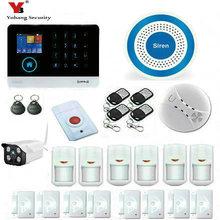 YobangSecurity Wireless WiFi Home Business Security System Wireless Security Burglar Alarm System Siren PIR Motion Door Sensor