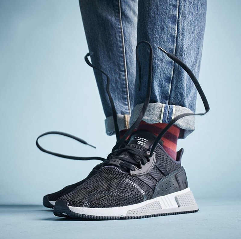 4e2bb8b8097f ... Official Original Adidas Originlas EQT Cushion ADV Breathable Men s  Running Shoes Sports Sneakers Comfortable Stability BY9506