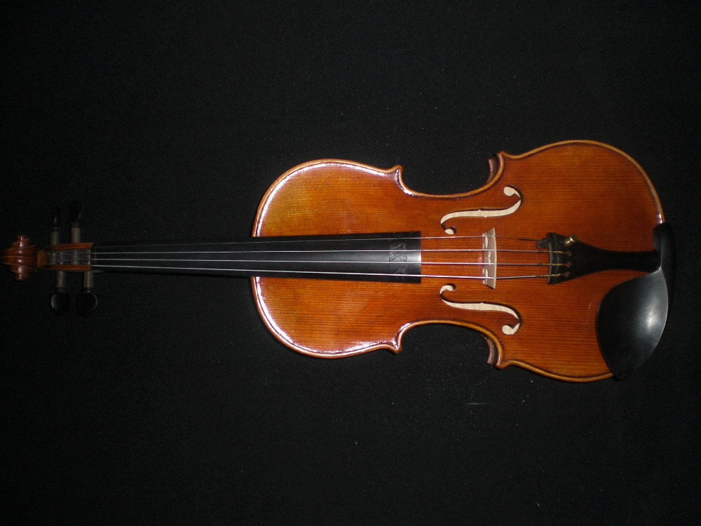 High Quality Hand made Violin 4/4 From European Spruce and Maple Antique Vanish Ebony parts austrian spruce ch j b collion mezin copy french master violin no 1408 nice sound antique violin100% handmade