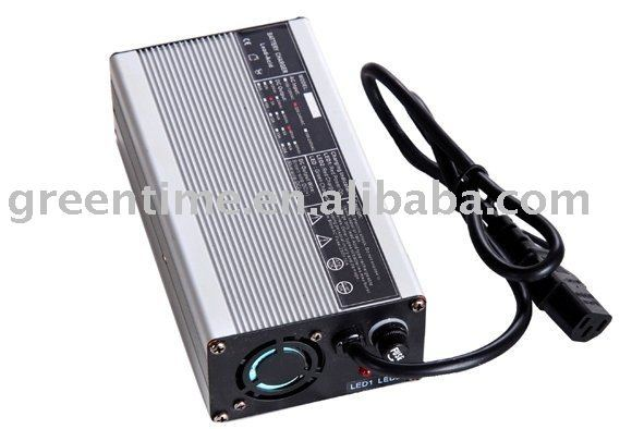 High Quality 36V(42V) 4A Li-ion Battery Charger/E-bike fast charger, Aluminum housing charger
