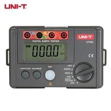 Best Buy UNI-T UT522 Digital Earth Ground Resistance Tester 0-400V 0-4000 ohm Lightning Rod Lightning Detector Low Tester