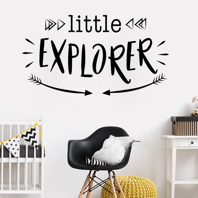 little explorer wall stickers quotes new style woodland vinyl decals
