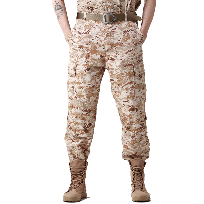 Military Camo Cargo Pants Men Army SWAT Soldier Combat Paintball Uniform Camouflage Trousers Male Casual Hunter Work Loose Pants