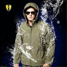 TAD скрытень Акула кожи куртка Soft Shell Открытый Военно-тактические Куртка Водонепроницаемый ветрозащитный Спорт Армия верхняя одежда