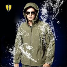 TAD Скрытень Акула Кожи Куртка Soft Shell Открытый Военный Тактический Куртка Водонепроницаемый Ветрозащитный Спорт Армия Одежда Верхняя Одежда