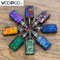 Kit de glisser Mini TC d'origine VOOPOO wi/4400 mAh glisser Mini Mod & 5ml UFORCE T2 réservoir et mis à niveau Firmware Mod e-cig Kit de Vape VS glisser 2
