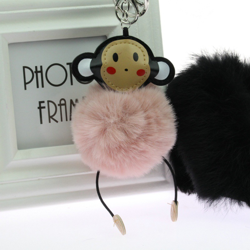 Clever monkey lovely key Mobile phone chain 3