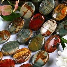 """Горячая природа Пикассо Jasperr камень Хороший полудрагоценный камень бусины аксессуары для модных шармов ожерелье изготовление 15,"""" Длина"""