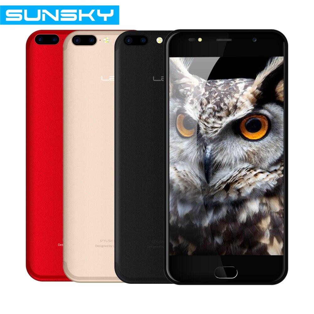 bilder für Ursprüngliche Leagoo M7 5,5 Zoll IPS Android 7.0 3G Smartphone MTK6580A Quad Core 1 GB RAM 16 GB ROM Dual Zurück Kamera Handy