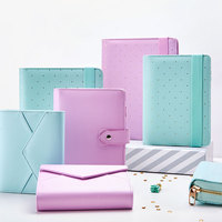 New Dokibook Notebook Mint A5 A6 Spiral Time Planner Cute Creative Zipper Book Diary Agenda Organizer