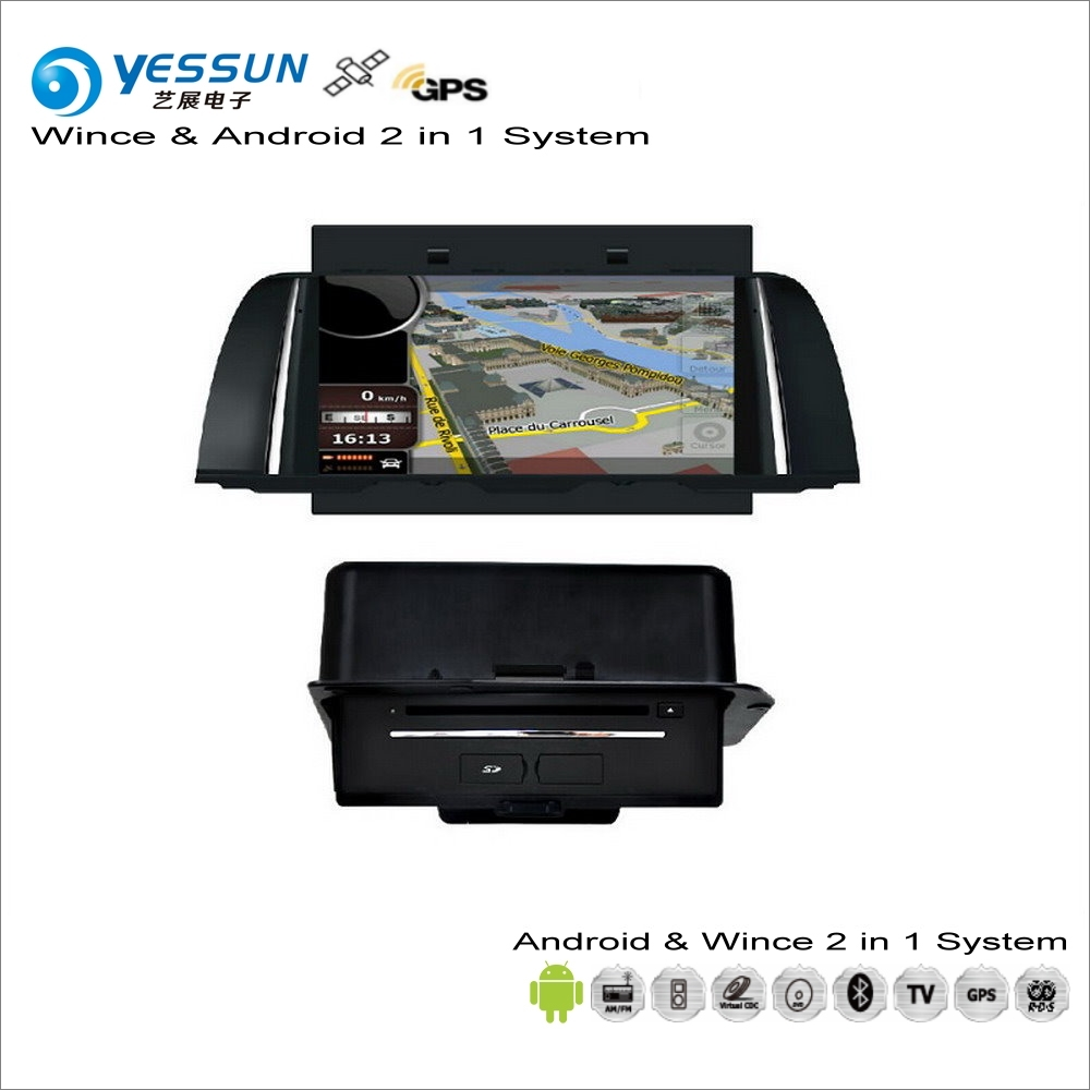 YESSUN For BMW 5 F10 F11 2010~2016 Car Android Multimedia Radio CD DVD Player GPS Navi Map Navigation Audio Video Stereo System цена 2017
