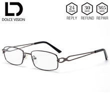DOLCE VISION classique optique femmes lunettes astigmatisme Prescription clair lentille correctrice Anti bleu progressif lunettes femmes