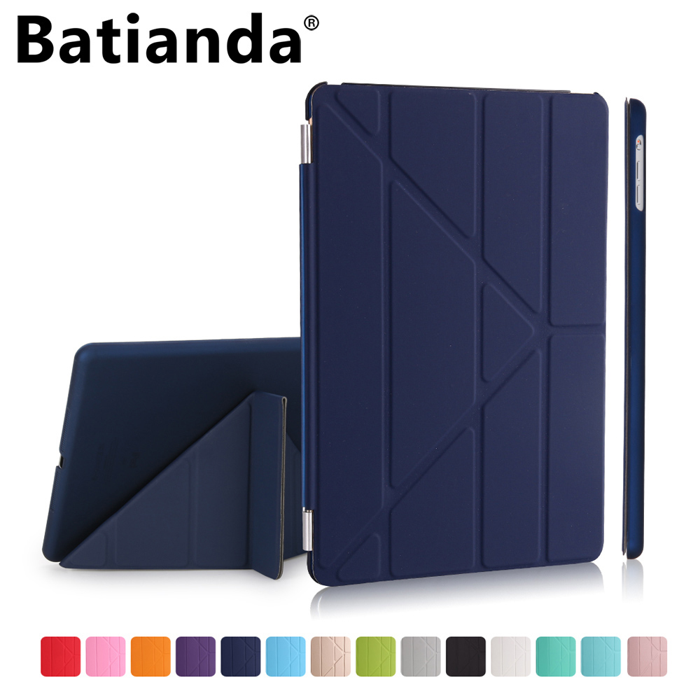 For New iPad 2017 /2018 9.7 inch Case Multi-Stand Smart Shell Cover For Apple New iPad 9.7 with Auto Sleep/Wake Function A1893 redlai for new ipad 9 7 inch 2018 a1893