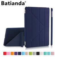 For New IPad 2017 Case IPad 9 7 Case Multi Stand Smart Shell Cover For Apple