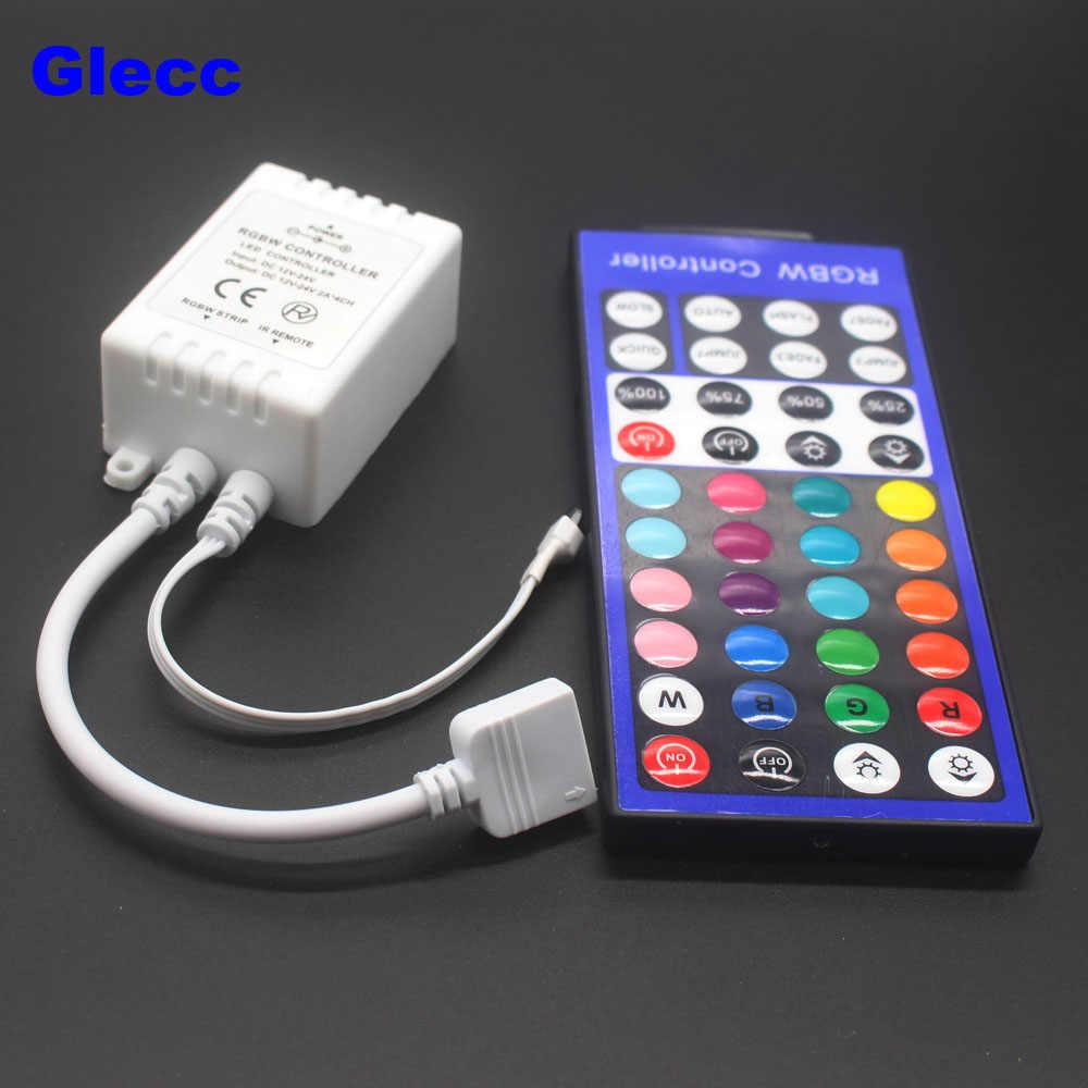 Taśmy LED światła Mini 3/11/17/24/40/44 klucz pilot zdalnego sterowania na podczerwień kontroler bezprzewodowy Wifi LED RGB kontroler DC12V MIni wifi dla 3528 5050 RGB