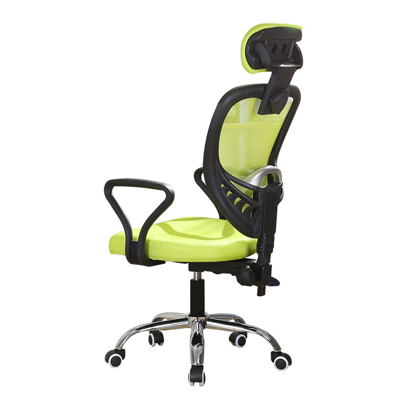 Office Furniture Intellective Bright Color Ergonomic Executive Office Chair Lengthed Backrest Mesh Reclining Computer Chair Adjustable Lifting Sedie Ufficio Elegant Shape Conference Chairs