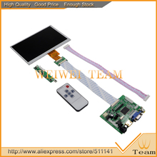 7 .0 Inch 40pins 1024*600 Raspberry Pi Monitor HD Digital LCD Display HDMI VGA 2 AV 2AV Banana Pi
