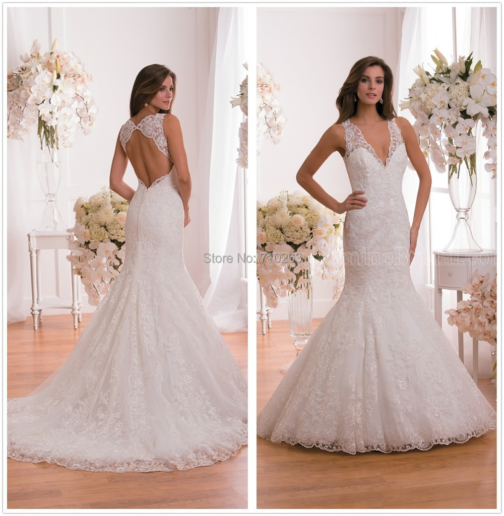 Vestido De Noiva Fabulous New Wedding Dress 2017 V Neck