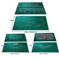 1pc Game Mat  Non-woven Fabrics 90cmx180cm Gambling cloth Casino Layout Texas hold'em Black Jack Baccrat Roulette Sic-bo