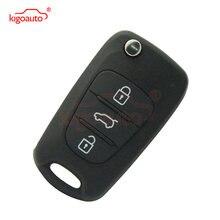 Ключ раскладушка 434 МГц 3 кнопки для hyundai i20 i30 сменный