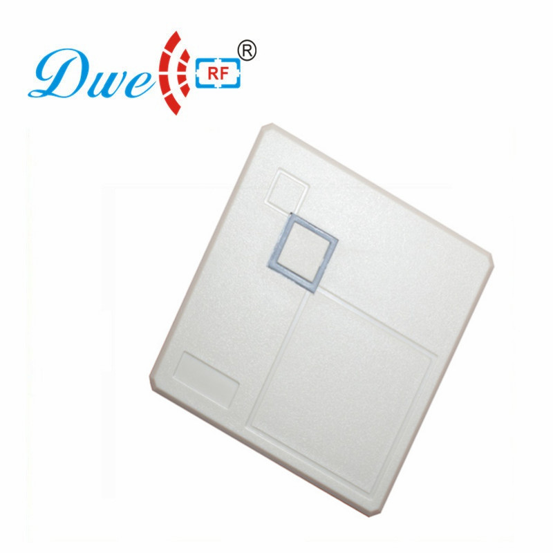 DWE CC RF Access Control Card Reader Contactless 125khz wiegand RFID Scanner Waterproof IP 65 D102 free shipping 13 56mhz smart card contactless reader wiegand rfid scanner with 10 fobs