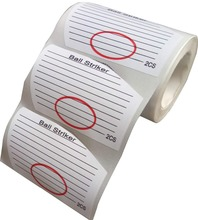 Wootile Golf Stickers Shooting Target Binders Stickers , Golf Irons Tape 250 PCS Per Roll