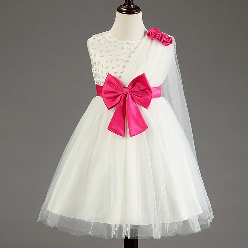 Aliexpresscom buy flower girls dresses for party and for Robe de chambre enfant avec matelas cher