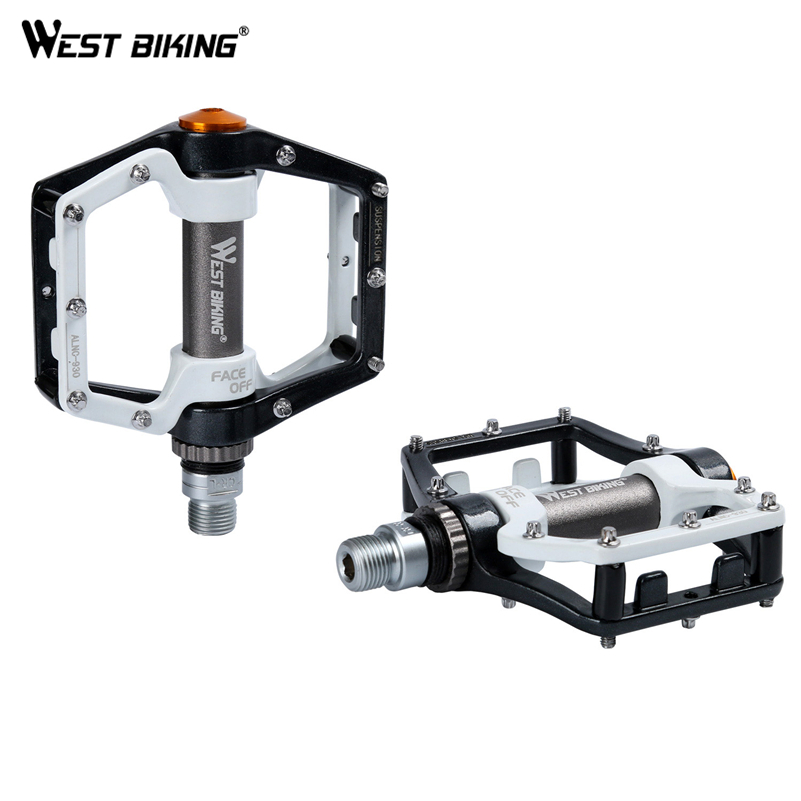 WEST BIKING Bicycle Pedals Bike Bearing Pedal MTB Ultralight Aluminum Mountain Road BIke Bicicleta Ciclismo Cycling pedals цена