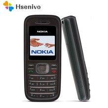 1208 Original de Nokia 1208 juegos Baratos GSM desbloqueado teléfono Celular Envío gratis