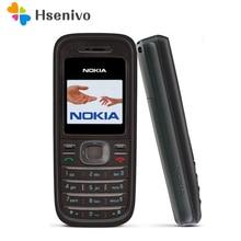 1208 Оригинальные сотовый телефон Nokia 1208 дешевый телефон GSM Восстановленный разблокированный телефон