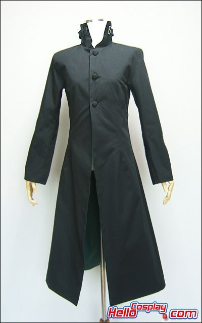 Darker Than Black Cosplay Hei Coat Costume Premade Standard Size H008