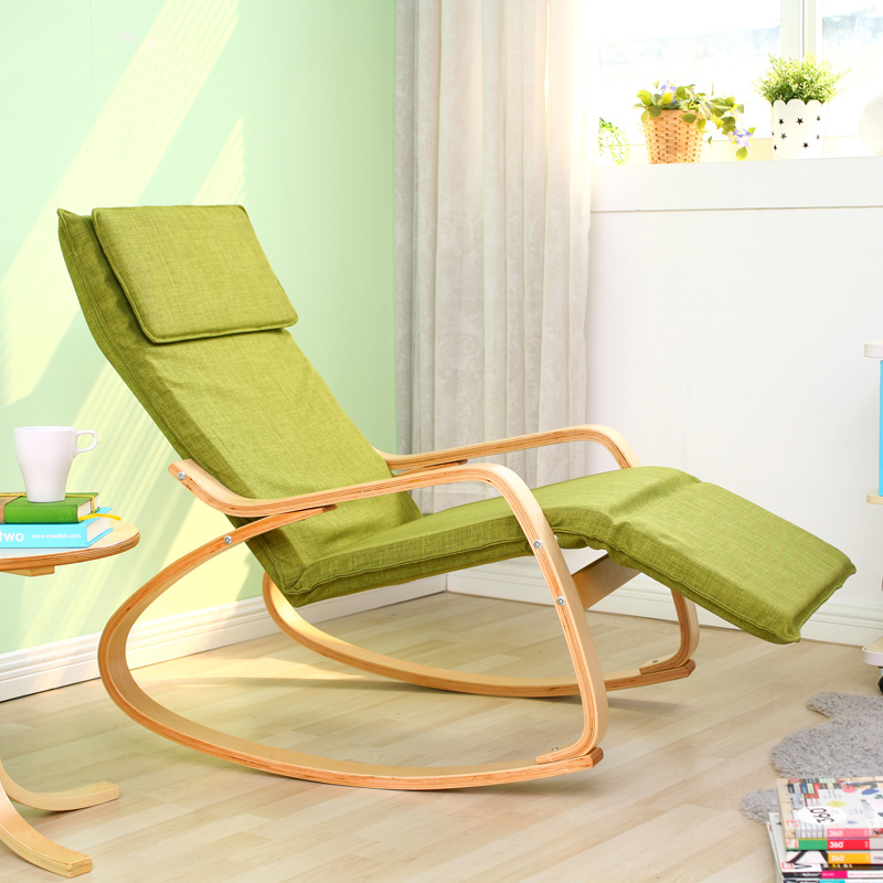 Ikea Rocking Chairs Children S Folding Beach Chair With Umbrella Daleo Casa Style Solid Wood Single Fabric Fashion Casual Recliner Lounge Balcony On Aliexpress Com Alibaba Group