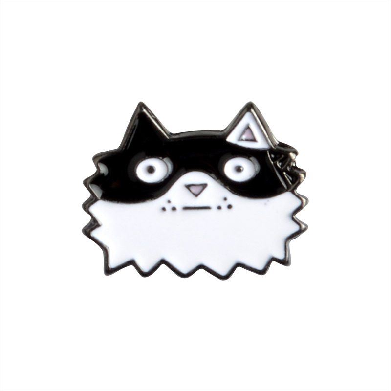 5 PCS / SET Cartoon Cute Dogs Metal Enamel Pin Animal Sign Jewelry - Bisutería - foto 4