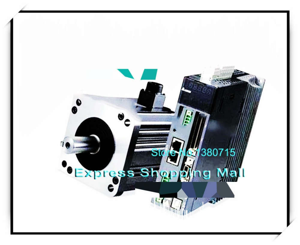 ASD-B2-1021-B+ECMA-E21310SS 130mm 220v 1kw 4.77NM 2000rpm 17bit brake AC servo motor&drive kit& cable asd b2 1021 b ecma c21010ss 100mm 220v 1kw 3 18nm 3000rpm 17bit delta brake ac servo motor