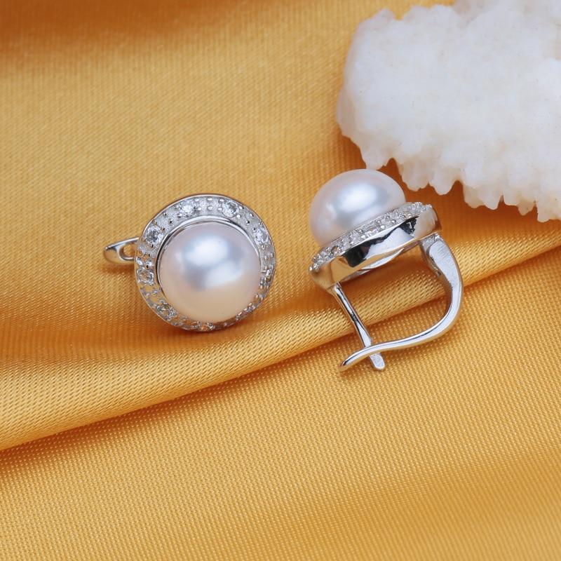 FENASY kolczyki z perłami, 2018 nowa naturalna kolczyki z perłami, - Wykwintna biżuteria - Zdjęcie 3