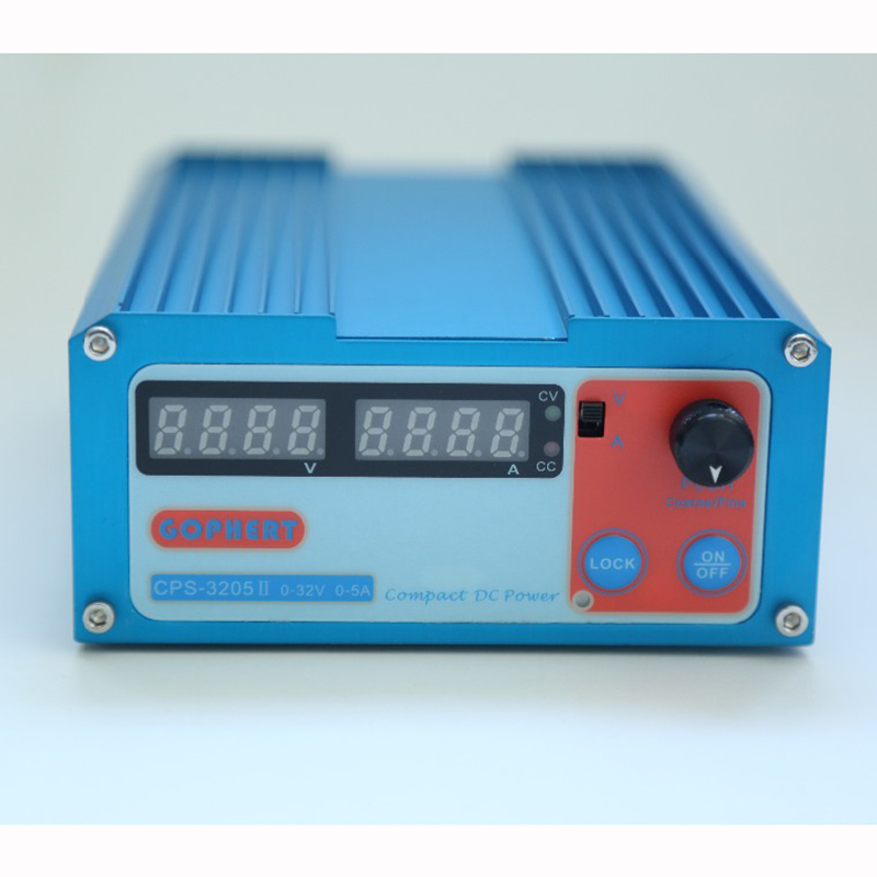 цена Hot CPS-3205 160W (110Vac/ 220Vac) 0-32V/0-5A,Compact Digital Adjustable DC Power Supply CPS3205