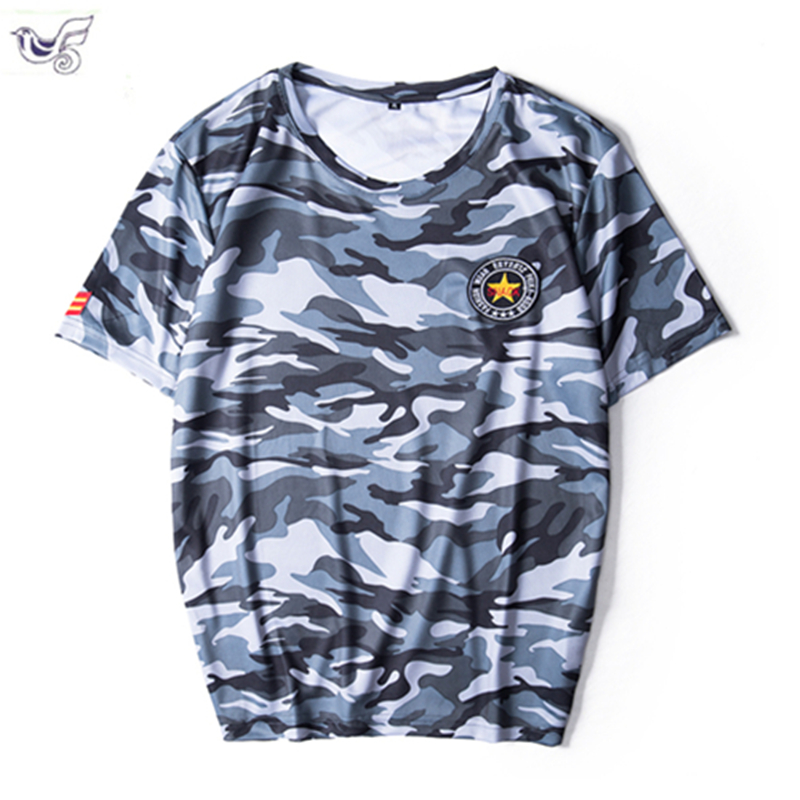 XIYOUNIAO plus size 6XL 7XL 8XL men Summer Military Camouflage Quick drying Breathable Male Tops amp tees t shirt Men 39 s T shirt in T Shirts from Men 39 s Clothing