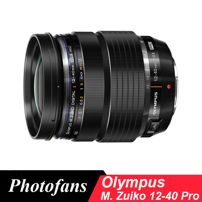 Olympus 12-40 for M43 M.Zuiko Digital ED 12-40mm f/2.8 PRO Lens olympus m zuiko digital ed 75mm f 1 8 серебристый