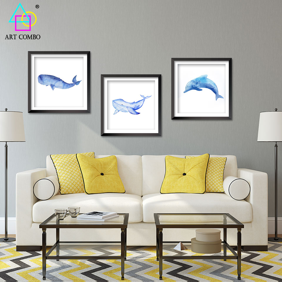Living Room Wall Art And Decor Dolphin Wall Art Promotion Shop For Promotional Dolphin Wall Art