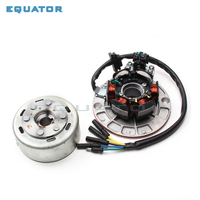 Magneto Stator coil rotor kit with light FOR (YX YINXIANG 150cc/160CC Engine) Dirt Pit Bike Motorcycle Pro Automic Electric