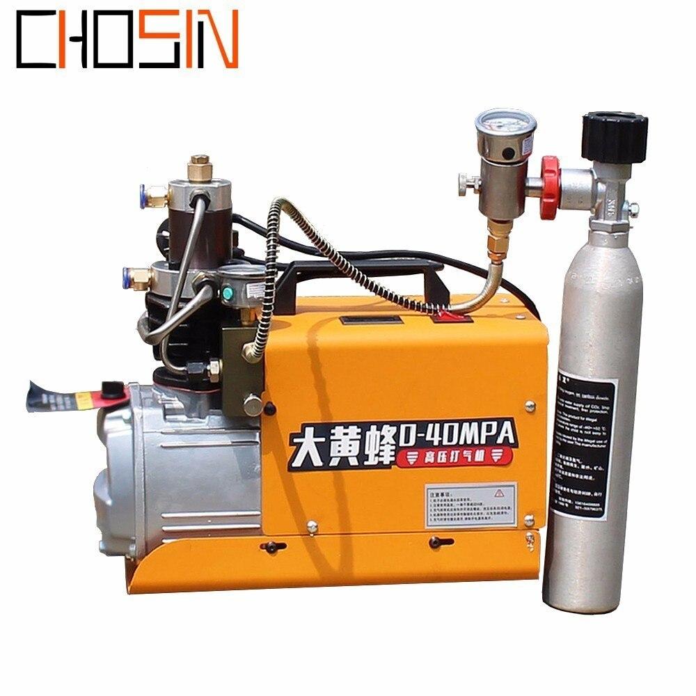 PCP Inflator 300bar 30mpa 4500psi 110V 220V Electric High Pressure Air Pump Electric Air Compressor Pneumatic